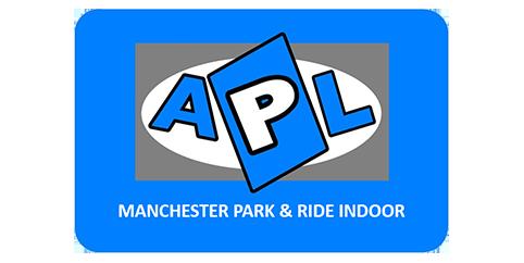 Manchester APL Park & Ride Indoor logo