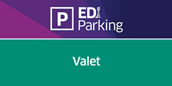 EDI Parking Official Valet logo