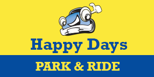 Heathrow Happy Days Park and Ride (Terminals 2, 3 and 5) logo