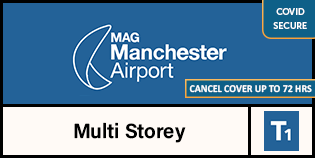 Manchester Airport Multi-Storey Short Stay Terminal 1 logo