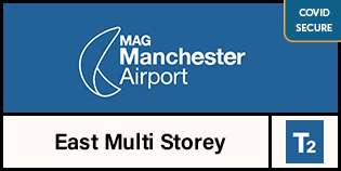 Manchester Airport Multi-Storey Short Stay Terminal 2 logo