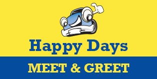 Heathrow Happy Days Meet and Greet logo