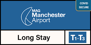 Manchester Long Stay Terminals 1 & 3 logo