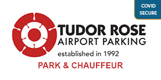 Gatwick Tudor Rose Park and Ride logo