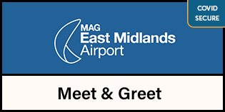 East Midlands Airport Meet & Greet logo