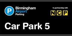 Birmingham Airport Car Park 5 (formerly Long Stay 1) logo