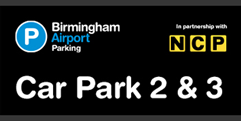 Birmingham Airport Car Parks 2 & 3 (formerly Short and Medium Stay 2 & 3) logo