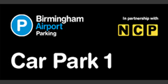 Birmingham Airport Car Park 1 (formerly Short and Medium Stay 1) logo
