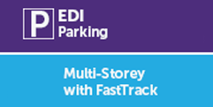 Edinburgh Airport Multi-Storey with fastTRACK bridge -Autumn Special