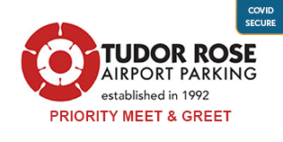 Gatwick Tudor Rose Meet and Greet logo