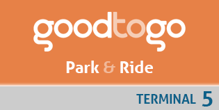 Heathrow Good to Go Park and Ride (Terminal 5) logo