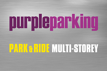 Heathrow Purple Parking Park and Ride T4 logo