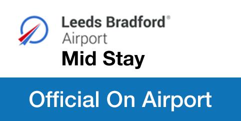 Leeds Bradford Airport Mid Stay logo