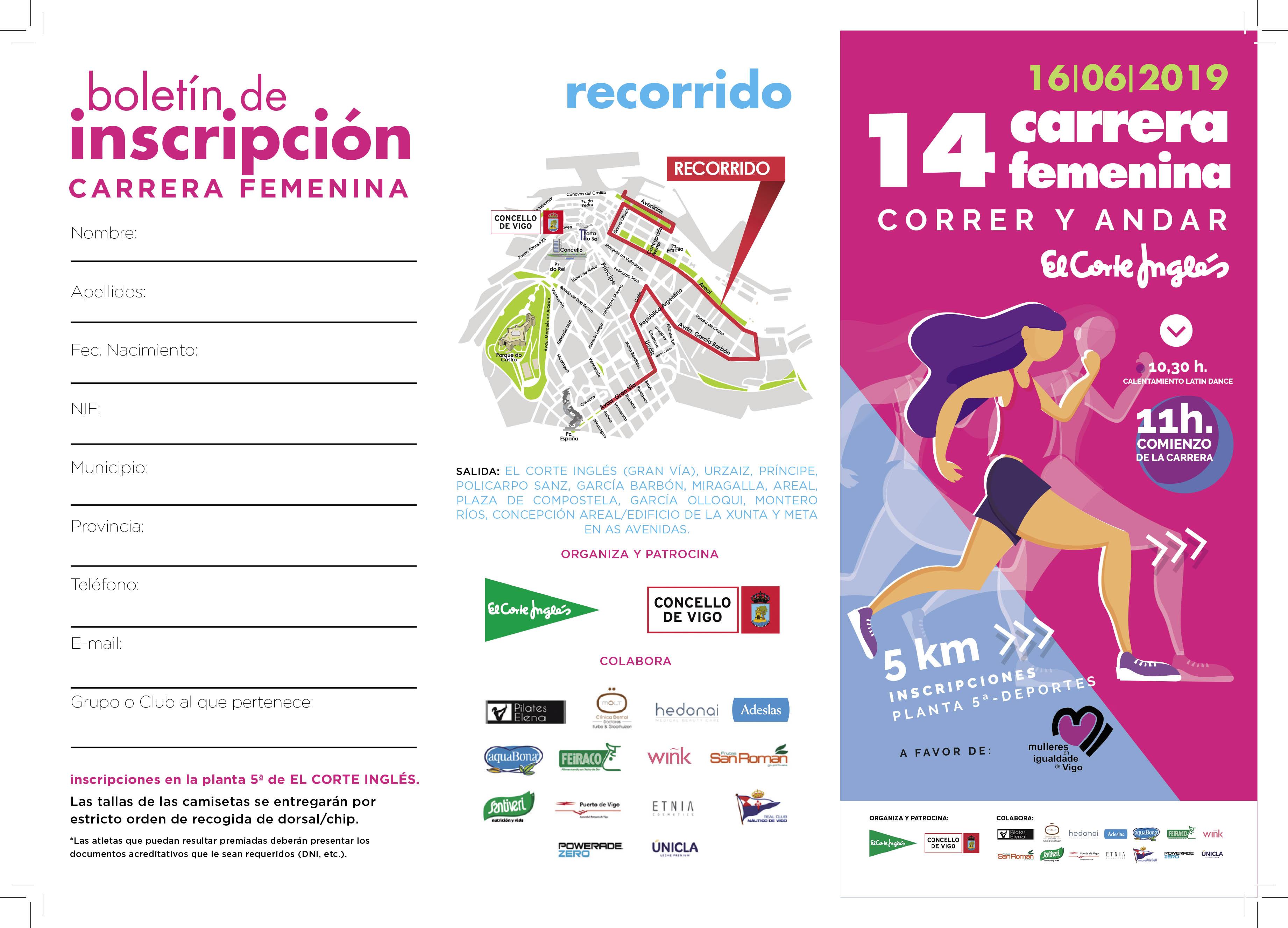 bd8cc7979f Carrera Femenina de Vigo - El Corte Ingles - laptime