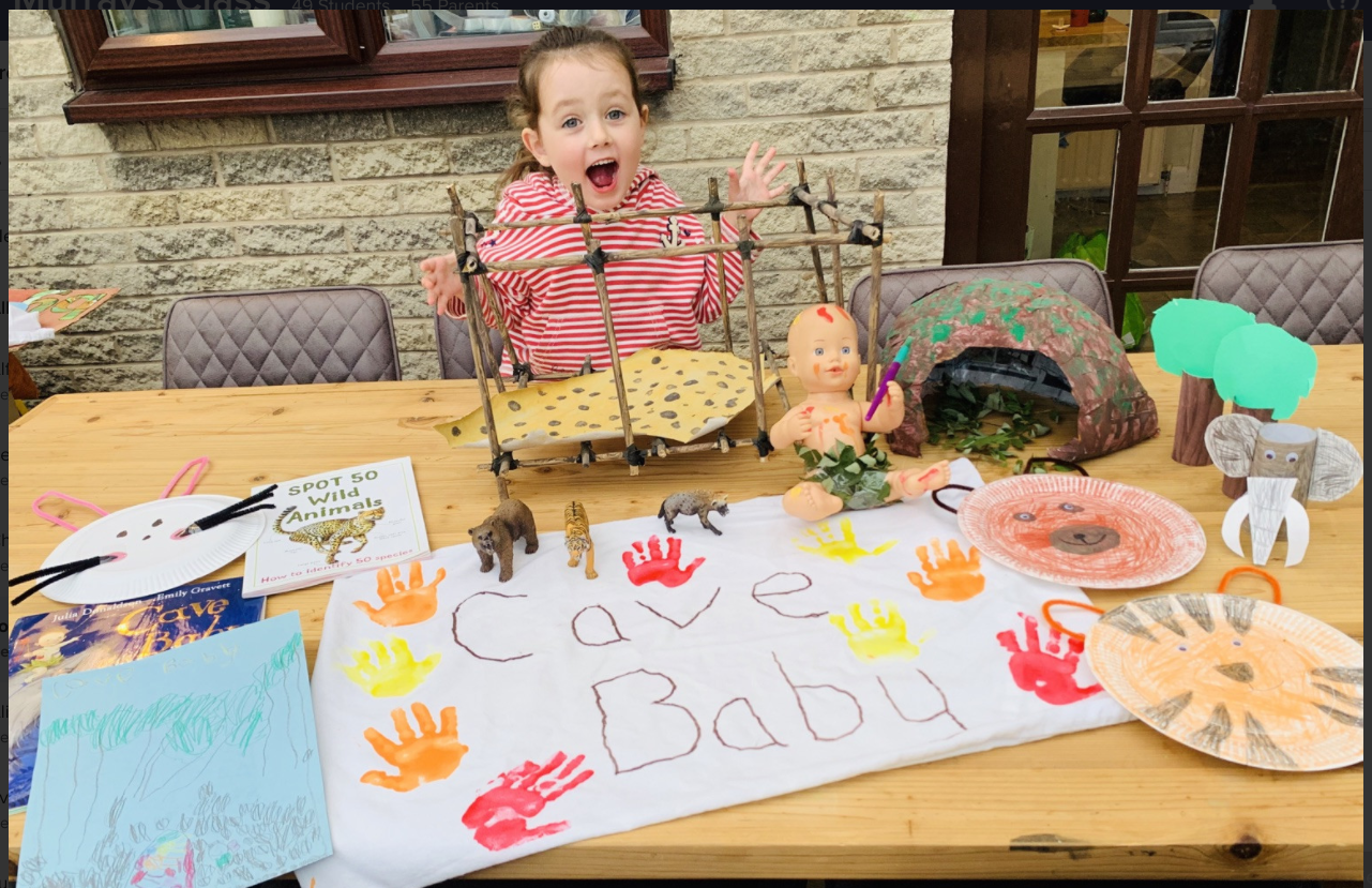 Lottie's Cave Baby story sack