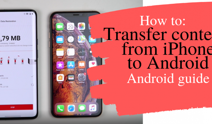 transfer content iphone to android