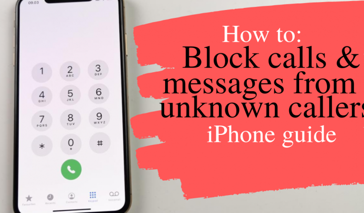 how to block calls and messages from unknown callers