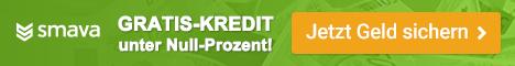 Kredit mit Minuszinsen