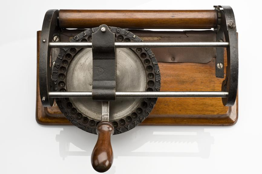 Writing machine for blind people, United Kingdom, 1862 | Science Museum Group Collection