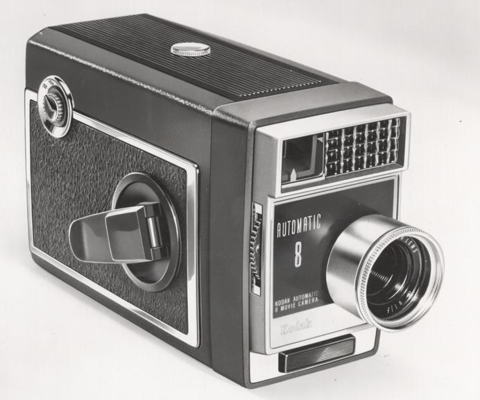 kodak automatic 8 movie camera science museum group collection