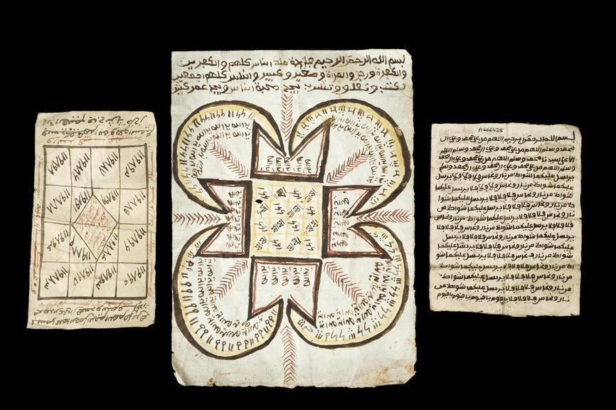Handwritten talisman, Ghana, 1890-1899 | Science Museum Group Collection
