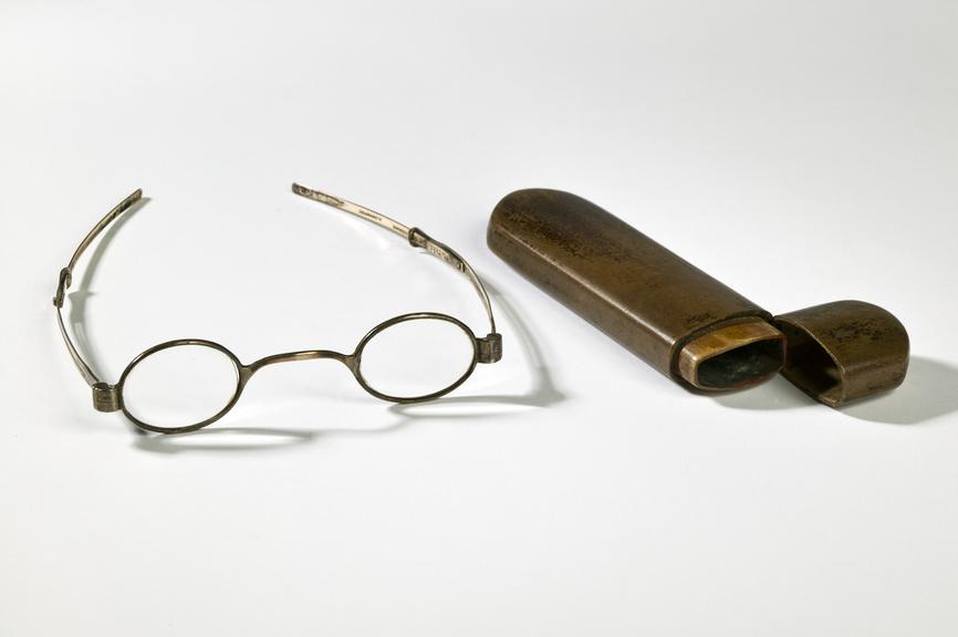 Silver-framed spectacles | Science Museum Group Collection