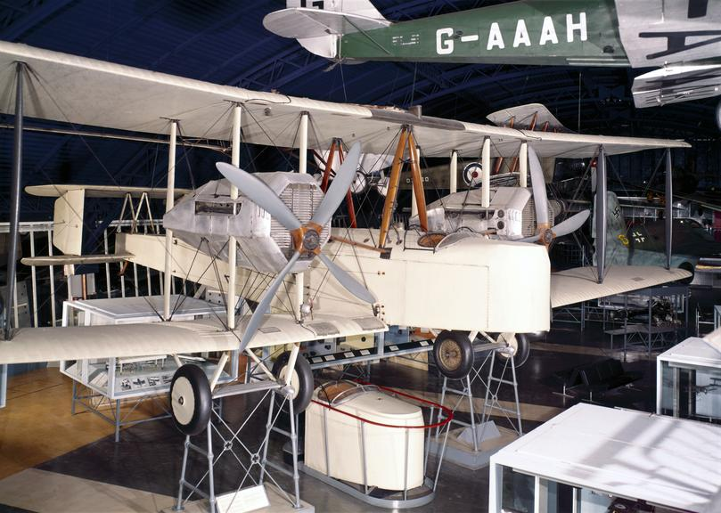 Alcock & Brown's Vickers 'Vimy' aeroplane, 1919