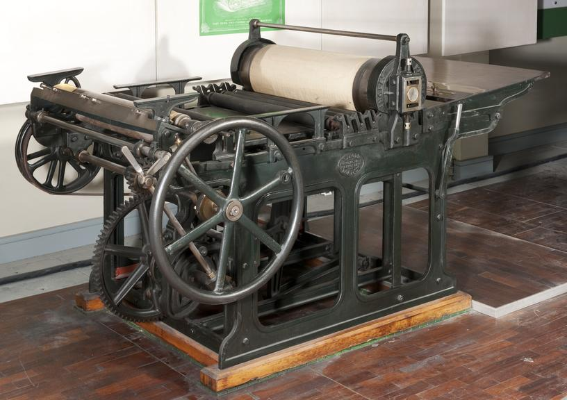wharfedale printing press 1870 1880 science museum group collection