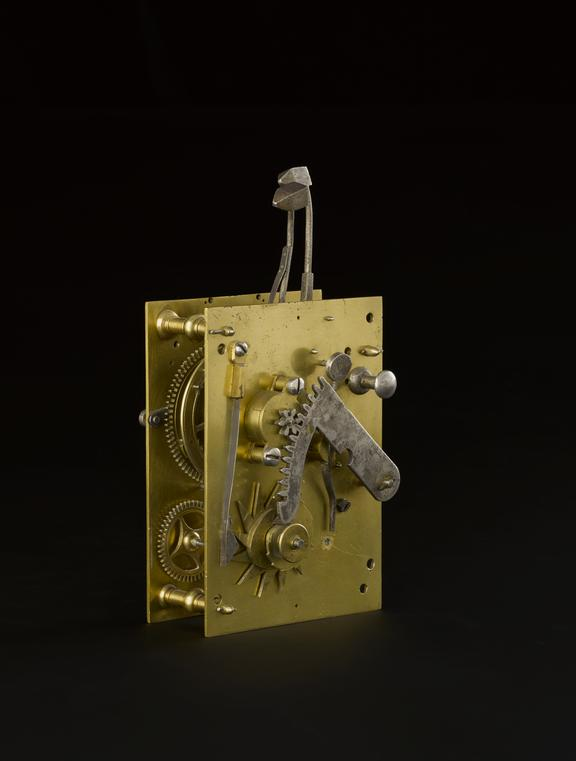 Detached repeater' mechanism for making a clock chime