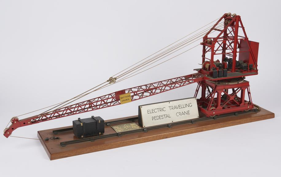 Model Of 3 Ton Electric Travelling Wharf Crane As