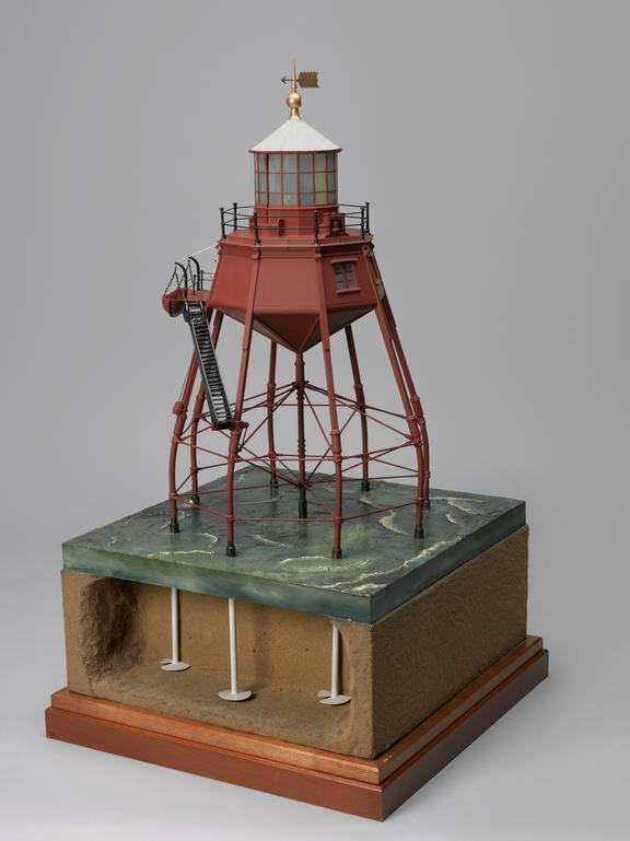 Model Of The Lighthouse On Maplin Sands