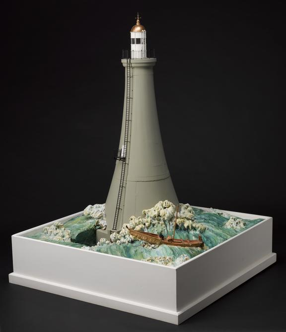 Model Of The Lighthouse On Sunken Rock Ose Tsutsu Zaki