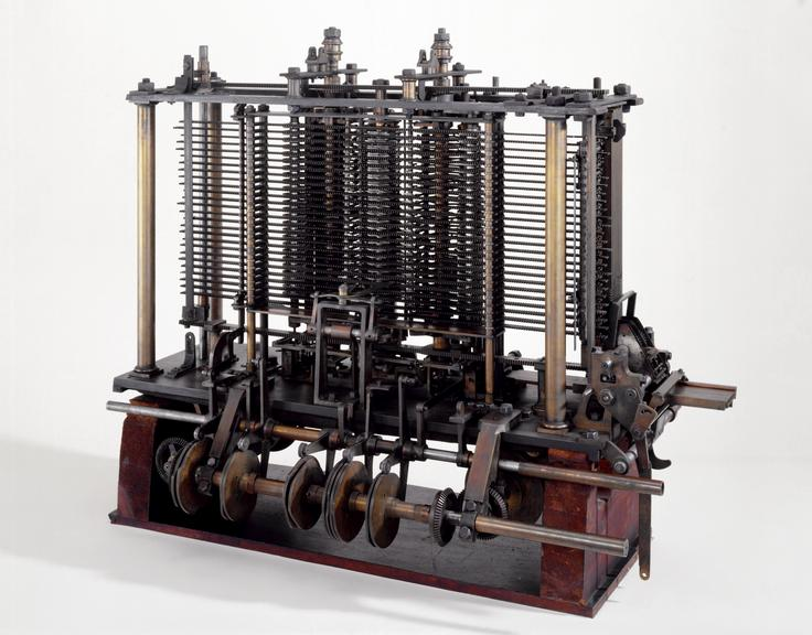 Image result for difference engine by charles babbage