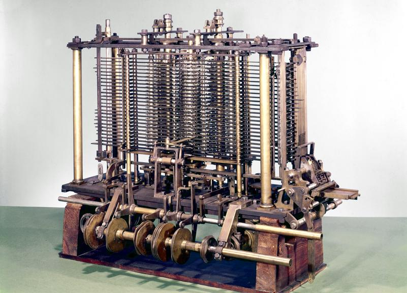 Image result for analytical engine babbage