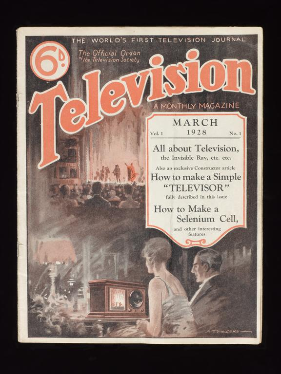 Volume 1 No. 1 of 'Television' monthly magazine, 1928 | Science Museum Group Collection