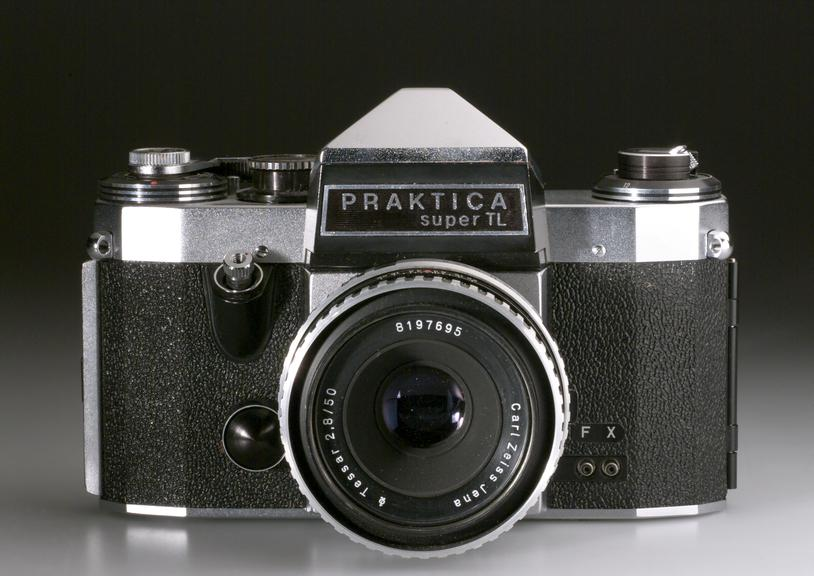 Praktica super tl pentaprism slr camera with normal wide an
