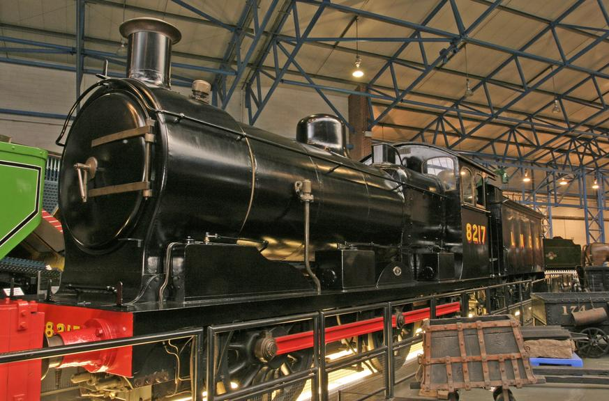 Steam locomotive, number 1217, Great Eastern Railway | Science