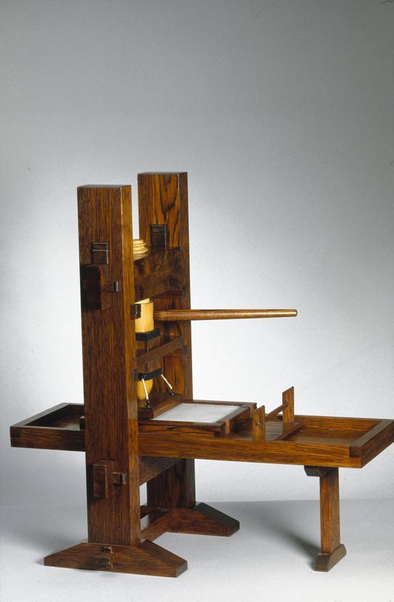 Model Of Gutenbergs Press 1430