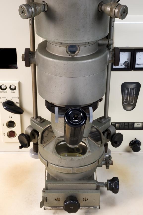 Siemens Elmiskop 1 Electron Microscope Germany 1955 Science