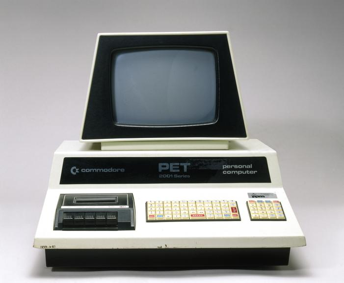 Commodore PET 2001-8-BS personal computer, 1977. | Science Museum ...
