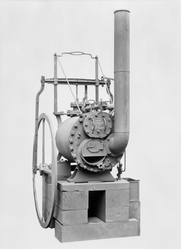 Trevithick\'s High Pressure Steam Engine and Boiler, c. 1806 ...