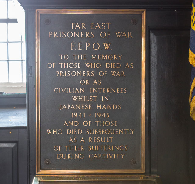 Far East Prisoners of War Memorial