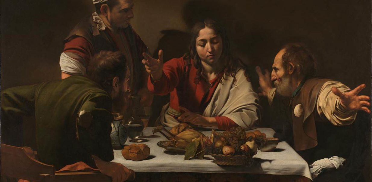 'The Supper at Emmaus', Caravaggio, NG172