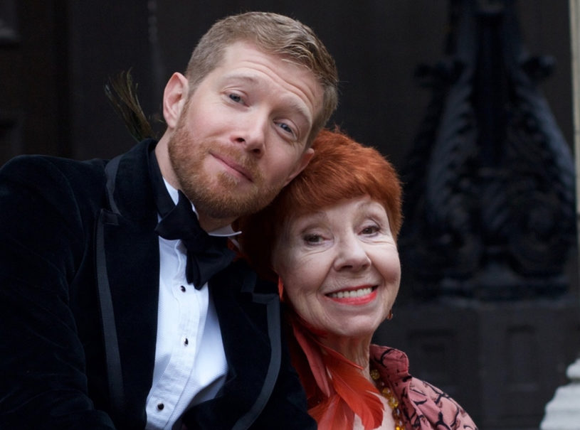 Zeb Soanes and Carole Boyd