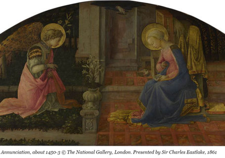 Fra Filippo Lippi, The Annunciation