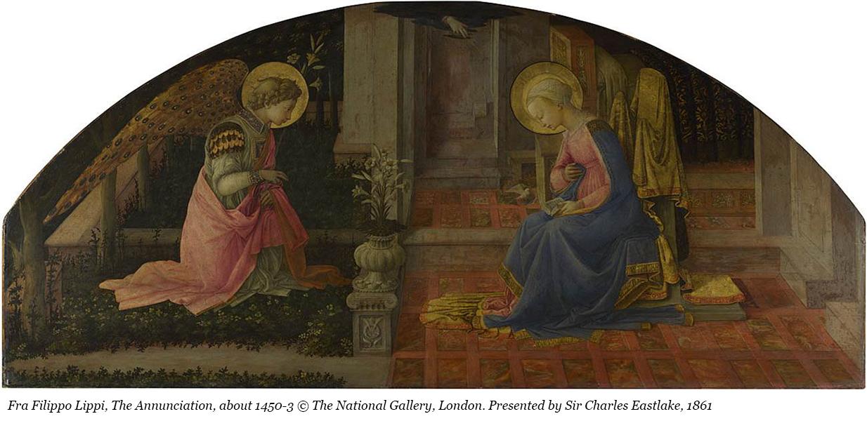 Fra Filippo Lippi, The Annunciation