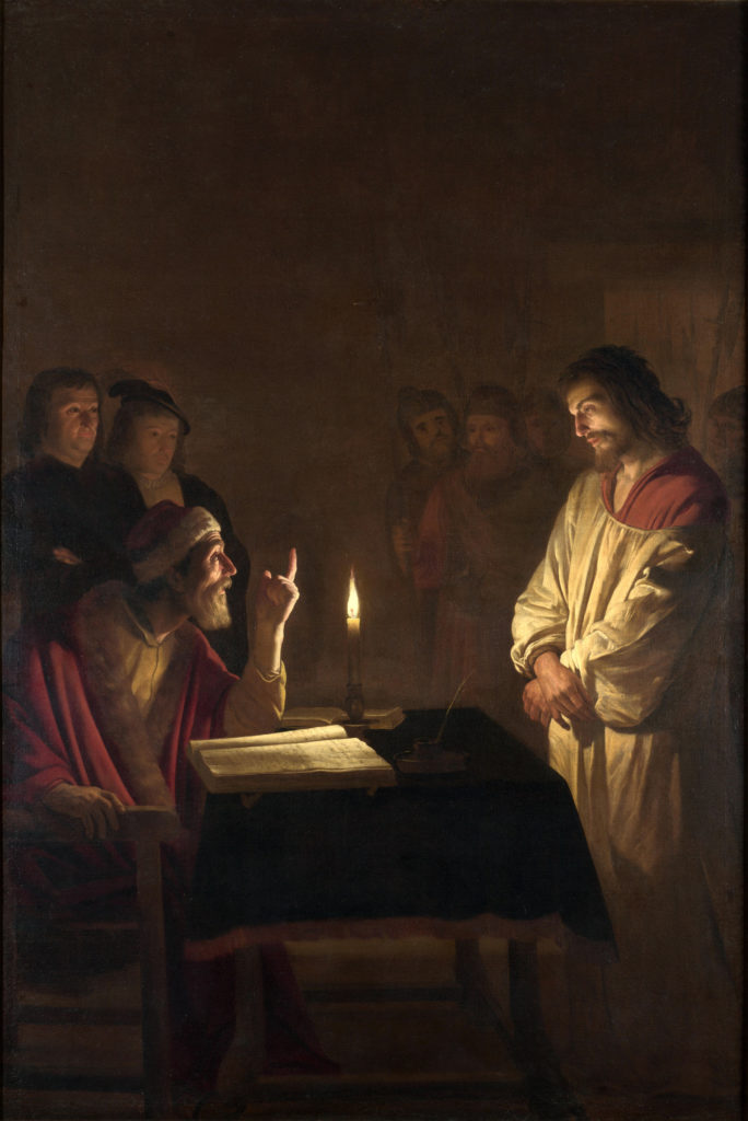 Gerard van Honthorst - Christ before the High Priest