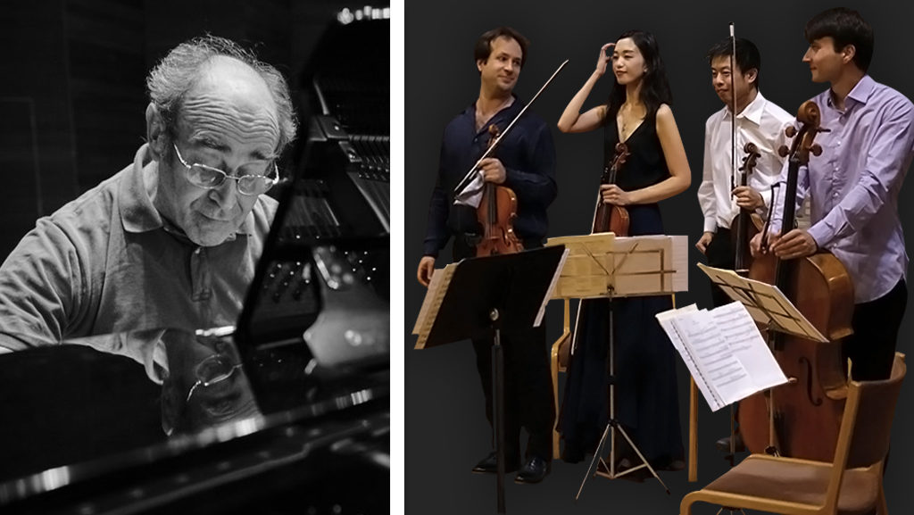 Free Lunchtime Concert: Alberto Portugheis (Piano) & Orfeas String