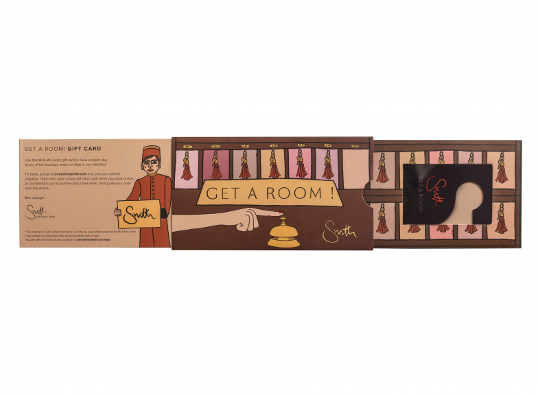 Angelica Hicks Get a Room! gift card