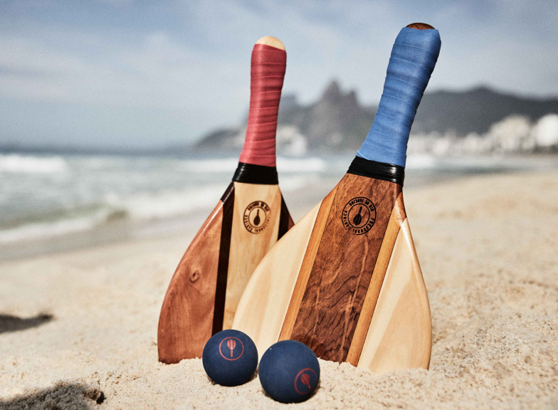 Frescobol Carioca x Mr & Mrs Smith: Trancoso Beach Bat Set
